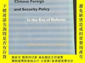 二手書博民逛書店斯坦福大學2001年初版罕見改革開放時期中國外交與安全政策 The Making of Chinese Fore