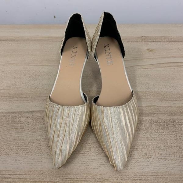 尖頭高跟鞋細跟性感工作鞋(36-39號/跟高7/121-6422)