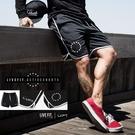 休閒短褲 LVFT肌肉健身短褲男兄弟服跑步訓練休閒純色籃球運動沙灘五分褲男