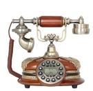 幸福居*仿古電話機 複古法式古典辦公座機家用歐式有線創意個性藝術坐機