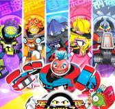 靈動蛋蛋小子玩具派奇萊迪套裝變形機器人兒童玩具男孩爆丸