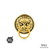 點睛品 Charme XL文化祝福 獅頭門環 黃金串珠