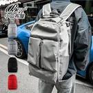 情侶後背包 韓版SILLYME大容量街頭雙肩包學生書包【NQA5226】
