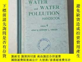 二手書博民逛書店water罕見and water pollution handbook 4Y447092