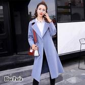 藍色巴黎 ■ 秋冬時尚簡約風衣外套 《2色》【28838】