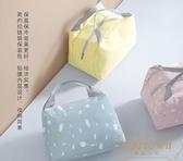 【兩個裝】保溫袋 保冷袋 便當袋 卡通手提保溫飯包拉鏈棉麻飯盒袋【繁星小鎮】