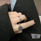 買一送一開口戒指女時尚個性設計簡約指環【小檸檬3C】