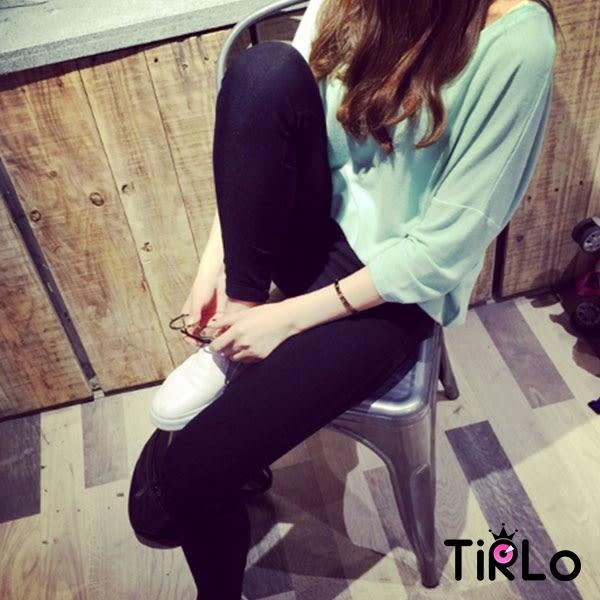 棉麻上衣-Tirlo-莫代爾前短後長寬版涼感上衣-三色(現+追加預計5-7工作天出貨)