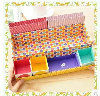 DIY化妝品桌面收納盒