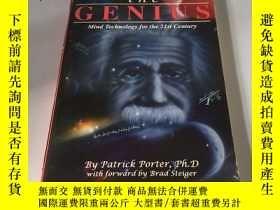 二手書博民逛書店英文原版:Awake罕見the Genius(喚醒天才)書口微黃