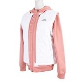 Skechers Outerwear [SMAWW18E524-W] 女 外套 背心 鋪棉 連帽 保暖 多功能 粉