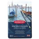 DERWENT達爾文 水性色鉛12色-鐵盒裝 32881