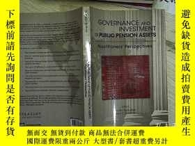 二手書博民逛書店GOVERNANCE罕見AND INVESTMENT OF PU