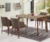 【新北大】✪ B437-1 巴斯卡4.4尺餐桌(不含餐椅)-18購