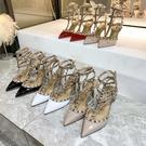 女夏柳丁婚鞋中跟單鞋