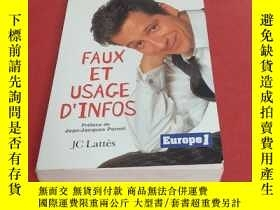 二手書博民逛書店FAUX罕見ET USAGE D INFOSY195426 LAURENT GERRA 見圖 出版1999
