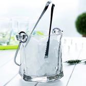 【全館】現折200玻璃保溫紅酒啤酒冰桶家用KTV酒吧香檳桶中秋佳節