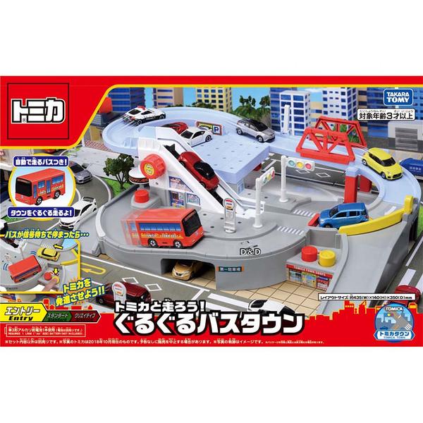 《 TAKARA TOMY 》TM轉轉巴士站 / JOYBUS玩具百貨
