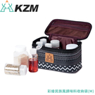【KAZMI 韓國 彩繪民族風調味料收納袋《M》】K9T3K002/露營/登山/收納袋