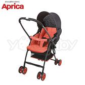 愛普力卡 Aprica Karoon 超輕量雙向平躺型手推車-櫻花紅
