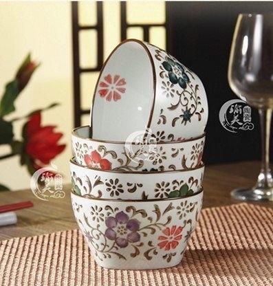高溫手繪陶瓷餐具套裝