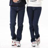 牛仔褲休閒褲 納迪亞原創設計男女直筒牛仔褲休閒女裝寬鬆長褲子AC30471 酷我衣櫥