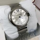 BRAND楓月 CARTIER 卡地亞 WE902075 經典 鑽圈 藍氣球 自動 機械 手錶 腕錶