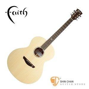 民謠吉他►英國 Faith FKN-Neptune 全單板民謠吉他 【木吉他/印尼廠/附原廠硬盒】