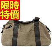 帆布包(大)-大容量休閒輕便可側背男手提包2色59j34【巴黎精品】
