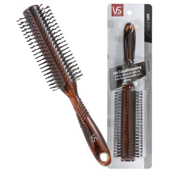 負離子系列-沙宣圓卷髮梳VS95249BW
