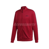 adidas 外套 C90 Track Top Jacket 紅 黑 男款 立領外套 運動休閒 【PUMP306】 EJ9673