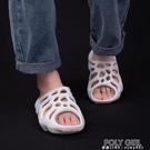 小波浪厚底拖鞋女夏增高抖音網紅涼拖鞋戶外運動沙灘度假情侶拖鞋