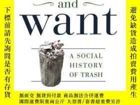 二手書博民逛書店Waste罕見And WantY307751 Susan Strasser Picador Paper, 20