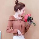 時尚襯衫女2021春裝新款緞面抗皺襯衣小眾設計感長袖上衣洋氣小衫 快速出貨