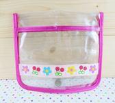 【震撼  】Hello Kitty 凱蒂貓透明防水提袋