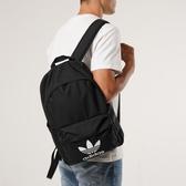 【雙12折後$1580】adidas Originals Trefoil 經典背包 內夾層 可放水壺 黑白 雙肩背包 三葉草 可手提 GD4556