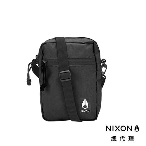 【官方旗艦店】NIXON STASH 黑 側肩小背包 斜肩包 中性款 背包 戶外 滑板 街頭 衝浪 小包 包包 單車