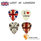 Comet 英國倫敦 Lost in London 獨家限量設計Pick組(一組4片)