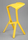鯊魚嘴吧椅塑膠椅時尚創意簡約高腳酒吧椅櫃冷飲甜品店吧凳吧台椅ATF 錢夫人小鋪