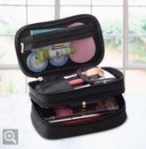 現貨清出/化妝包旅行便攜小號多功能大容量手拿隨身迷你收納品袋簡約 6-21