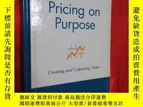 二手書博民逛書店Pricing罕見on Purpose: Creating an