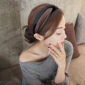 韓國簡約寬邊可愛百搭甜美淑女發箍 時尚氣質布藝版頭窟發卡頭飾【小梨雜貨鋪】