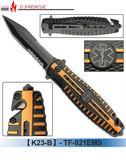 【EMS軍】美國XZAN戰術摺疊刀#(K23)TF921
