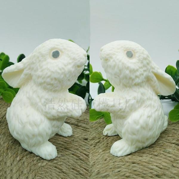 中秋立體玉兔小白兔萌兔慕斯巧克力冰淇淩甜品蛋糕沙皮狗矽膠模具 英雄聯盟