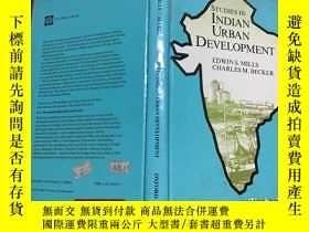 二手書博民逛書店Studies罕見in Indian Urban Develop