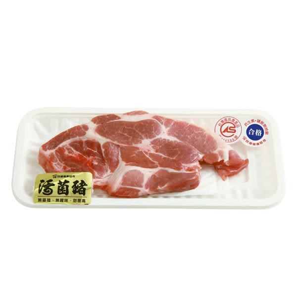 活菌豬梅花肉排200g
