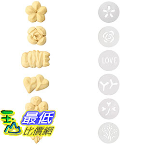 [107美國直購] OXO Good Grips Cookie Press Springtime Disk Set