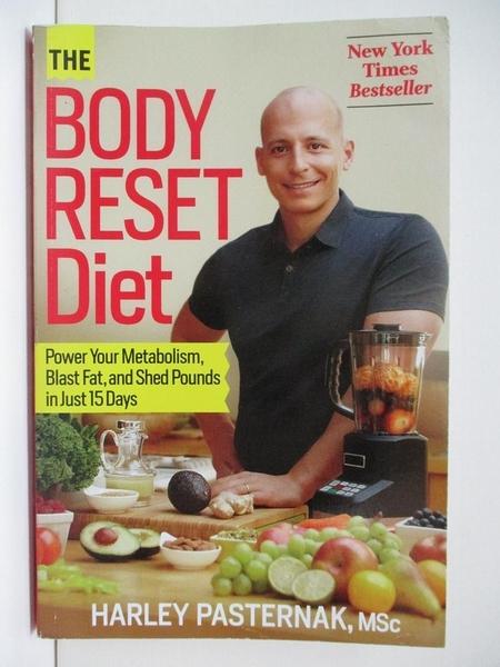 【書寶二手書T1/養生_DOV】The Body Reset Diet: Power Your Metabolism…