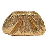 BOTTEGA VENETA 寶緹嘉 金錫色羊皮雲朵包 Intrecciato Coin Purse Mini Pouch