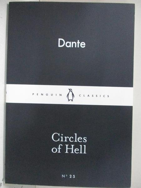 【書寶二手書T6/原文小說_DAB】Circles of Hell_Dante
